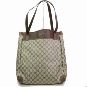 Auth Gucci Gg Sherry Shoulder Bag Tote #1497G93